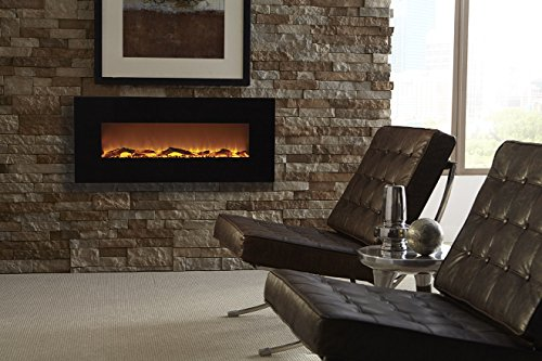 """Touchstone 80001 vs. PuraFlame Alice 48"""" Recessed Electric Wall Mounted Fireplace"""