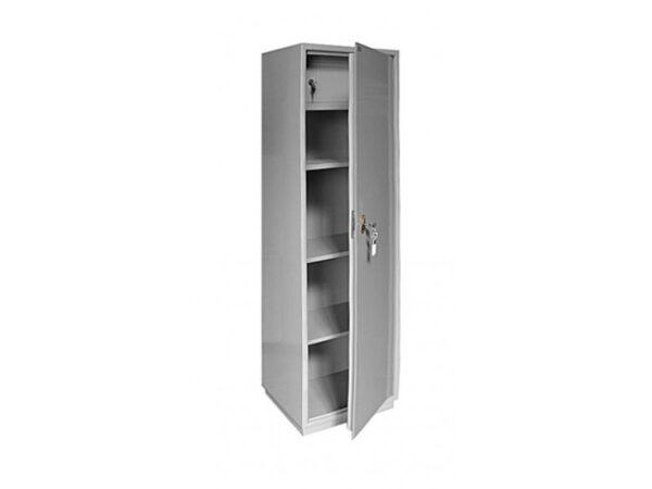 Бухгалтерский шкаф КБ-031Т металлический серый