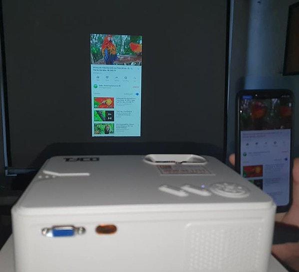 máy chiếu TYCO T1800+ Wifi