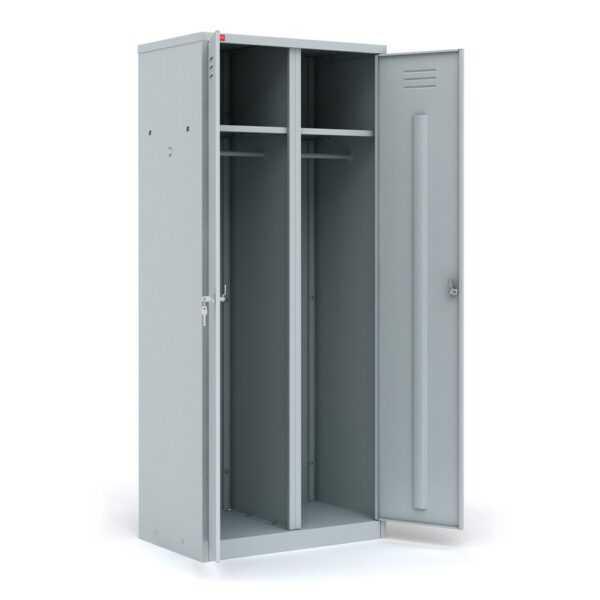 Шкаф металлический разборный для одежды ШРМ-С