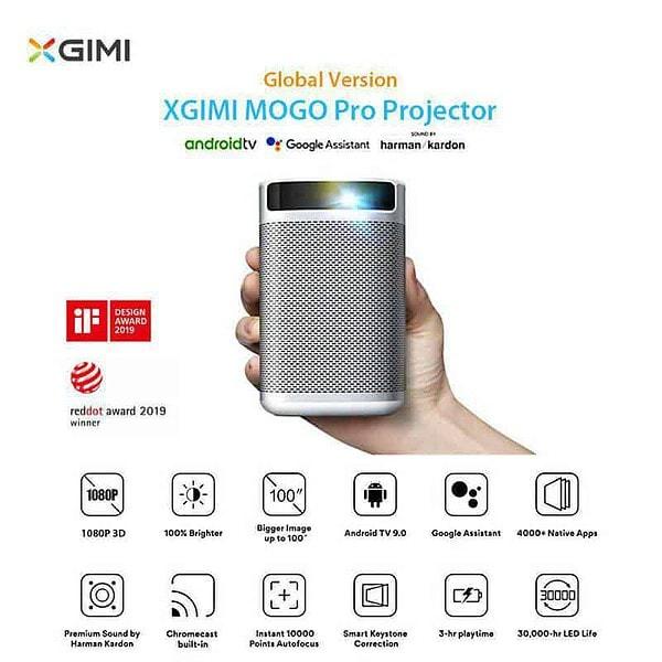 máy chiếu mini XGIMI MoGo Pro