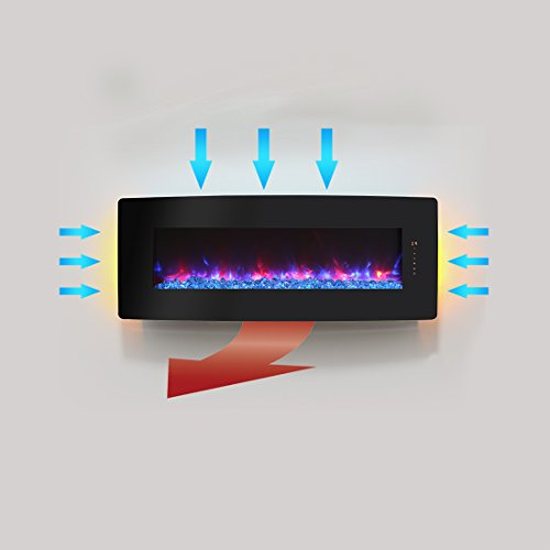 What's the disadvantage of the Innoflame Wall Mounted Electric Fireplace?
