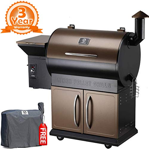 Compare Green Mountain Grills Davy Crockett Pellet Grill with Z Grills ZPG-700D 2018 Upgrade Wood Pellet Grill & Smoker
