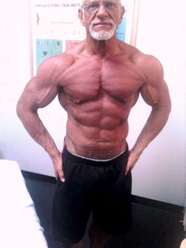 old man bodybuilder
