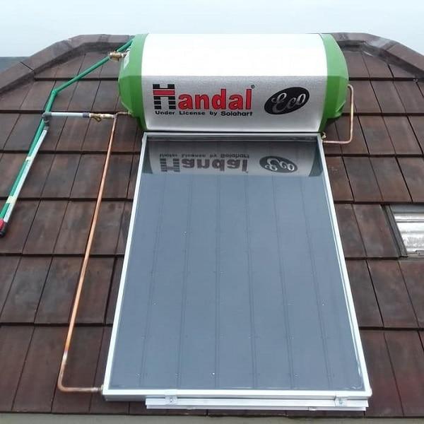 spesifikasi handal solar water heater