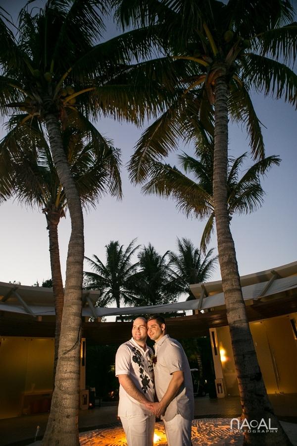 LGBT Elopement  Rosewood Mayakoba -  - Naal Wedding Photo 421