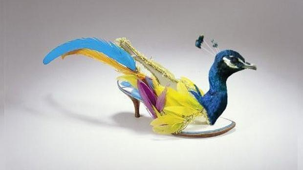 Weird shoes: wings on your feet