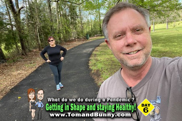 Day 6 - What do we do during a Pandemic - Getting Healthy