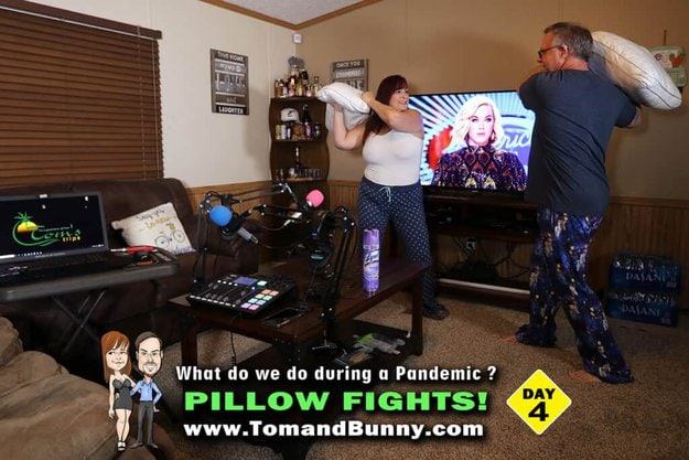 What do we do during a Pandemic Day 4 with TomandBunny
