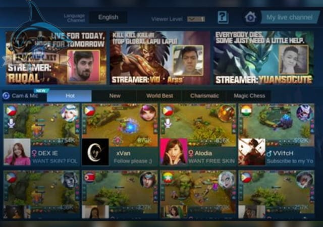 Live Streaming - Spotgame