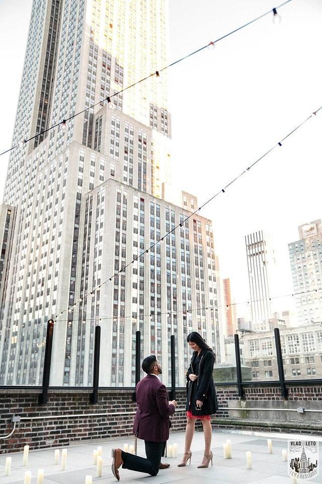 Photo NYC Rooftop Proposal | VladLeto