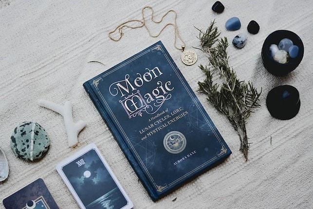 moon magic oracle cards and spiritual tools