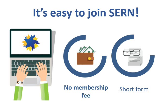 It's easy to join SERN!