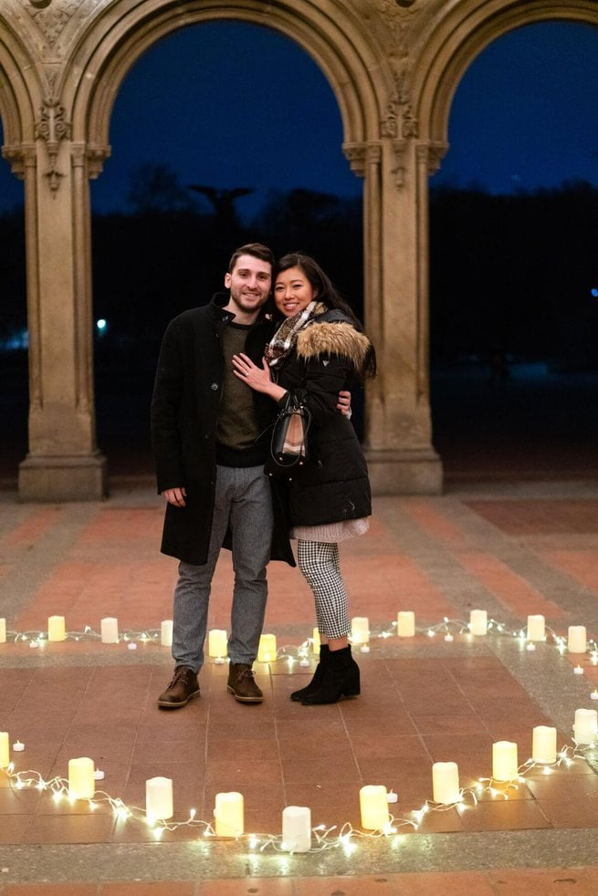 Photo 3 Marriage Proposal at Bethesda Terrace in Central Park. | VladLeto