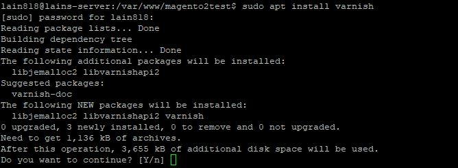 40. installing Varnish on our ubuntu system
