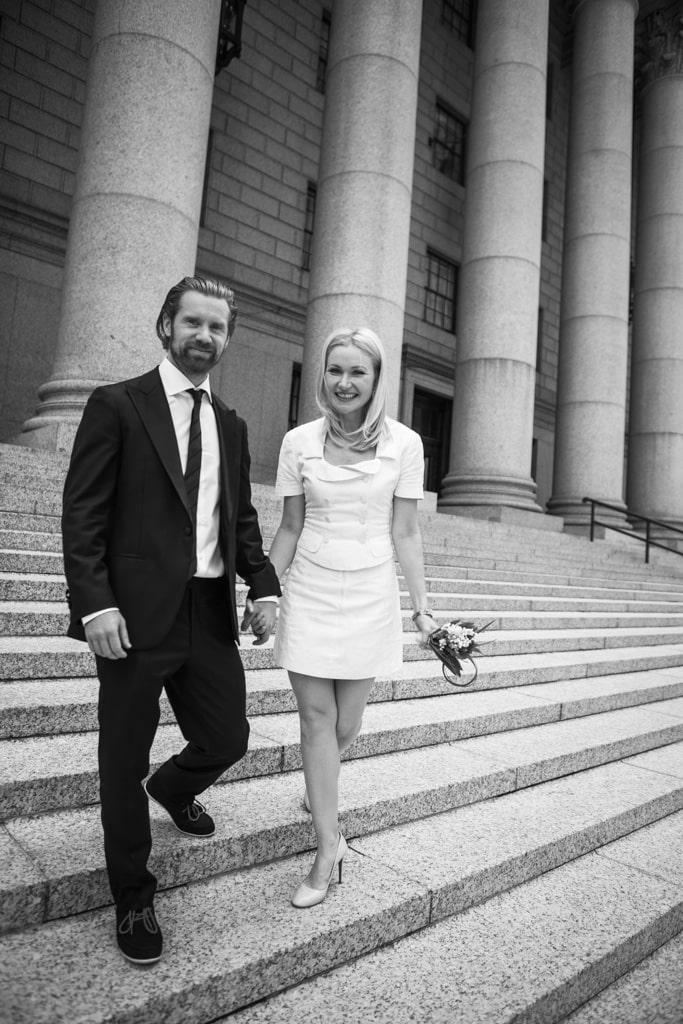 Photo 17 City Hall Wedding Nyc | VladLeto