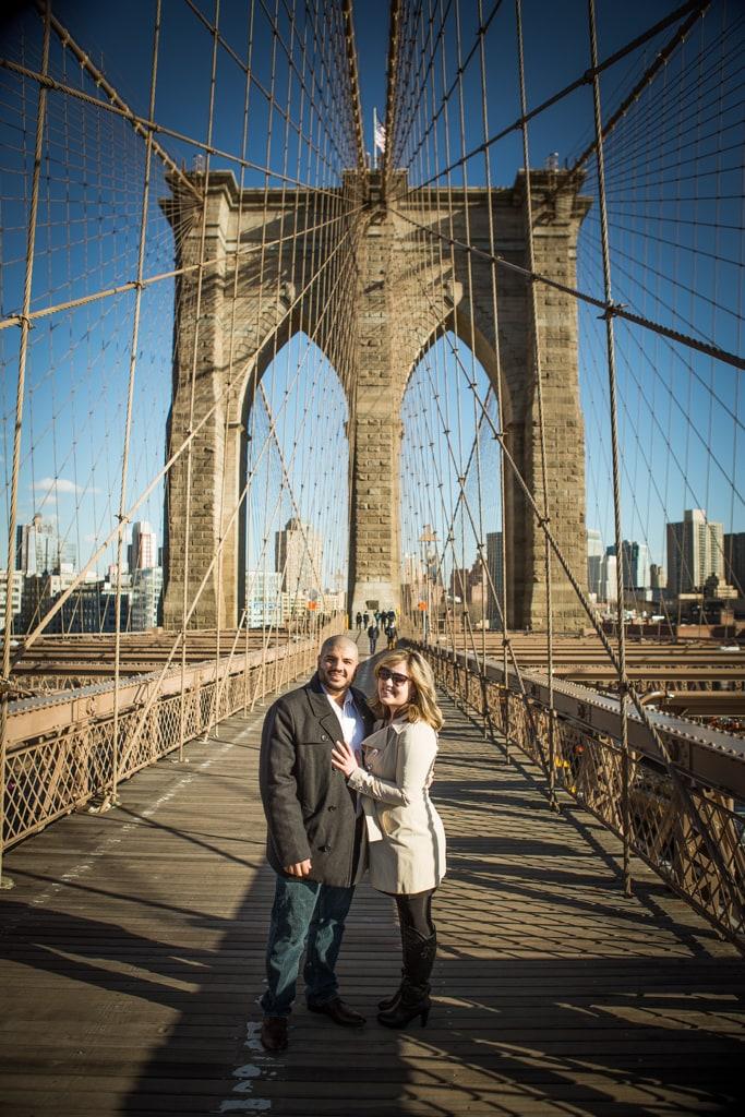 Photo 9 Marriage proposal at Brooklyn bridge   VladLeto