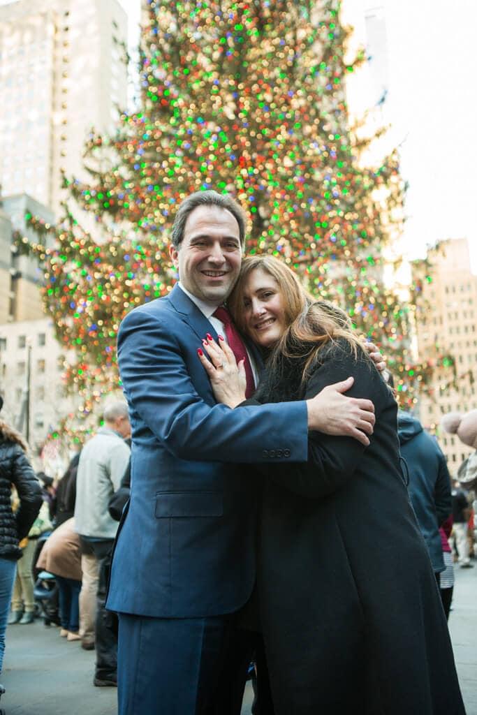 Photo Rockefeller Center Marriage Proposal | VladLeto