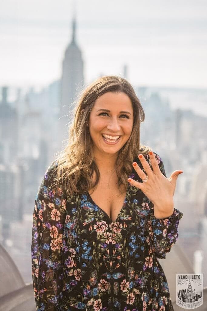 Photo 9 Top of the Rock Marriage Proposal 2
