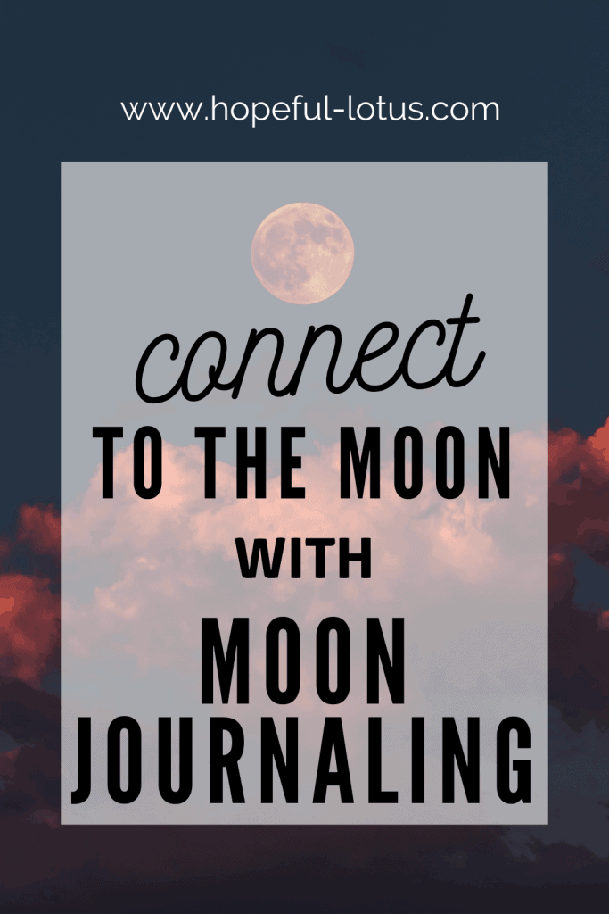 Get more in touch with the moon phases with this guide to moon journaling. These moon journaling ideas will teach you exactly how to get started with tracking the moon and maximising your success with the law of attraction! The post features descriptions of each of the moon phases along with journal questions and affirmations to get you into alignment!