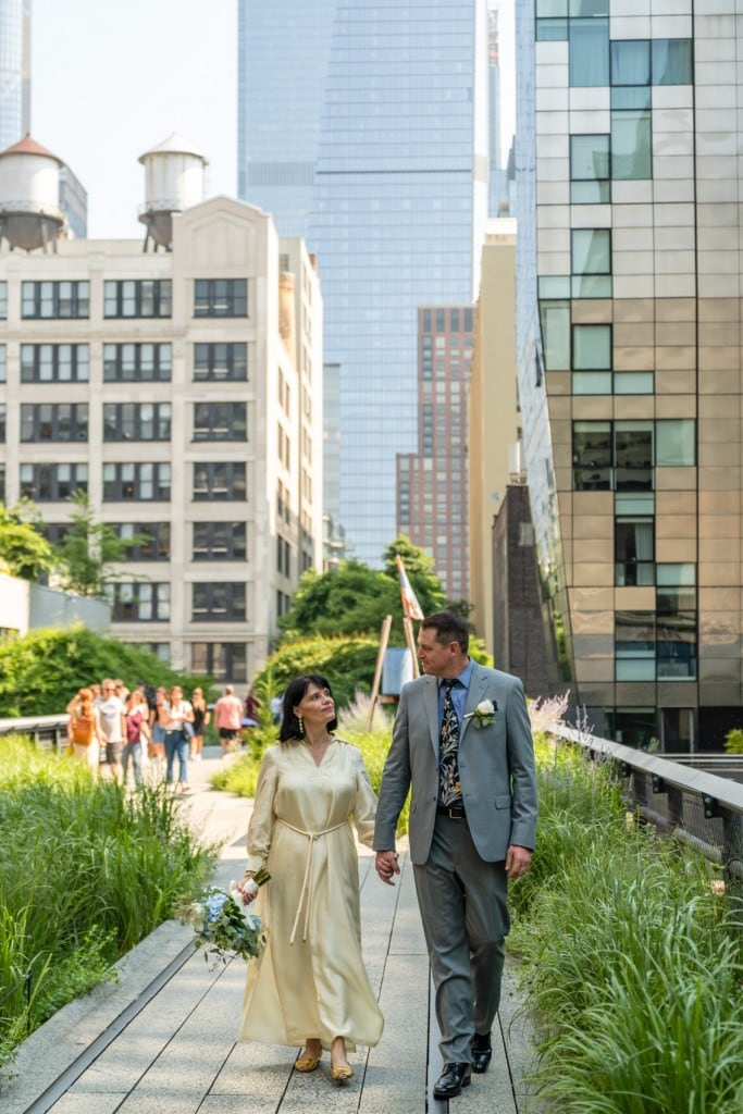 Photo 7 How to elope on the High Line Park?