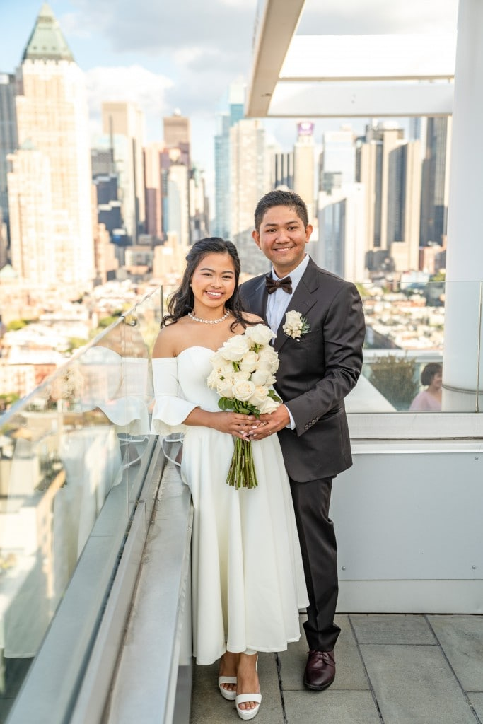 Photo 25 Ryan and Grace penthouse elopement in New York