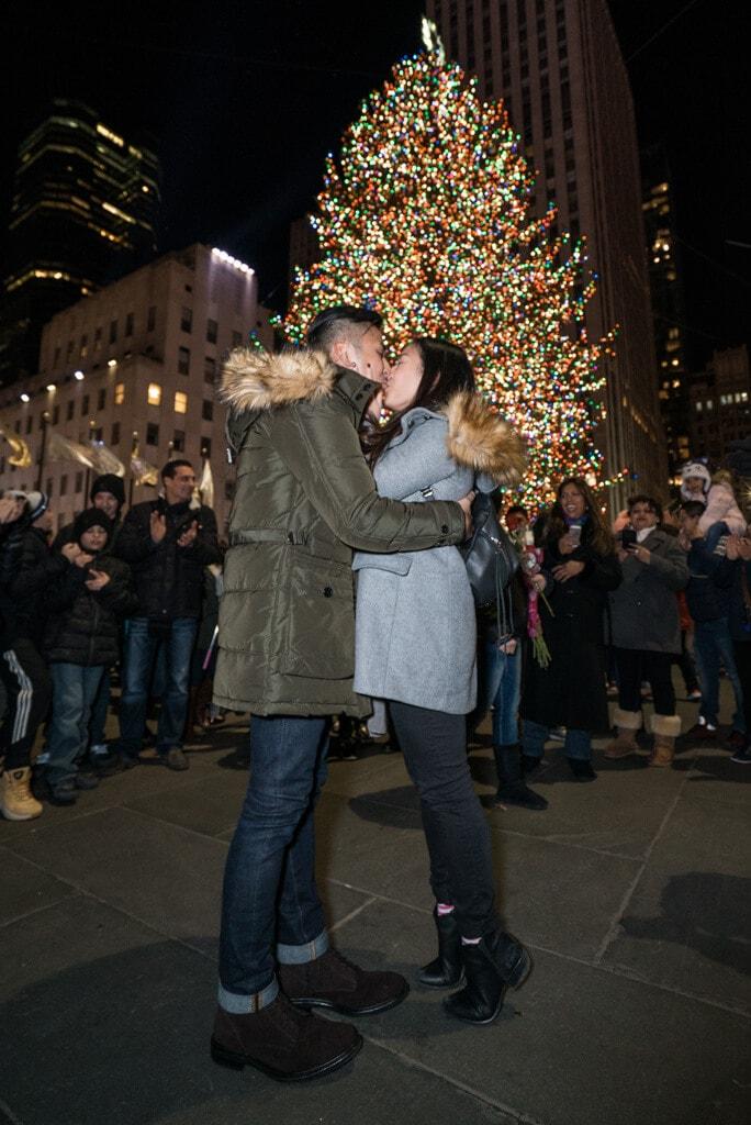 Photo 2 Christmas Tree Marriage Proposal | VladLeto