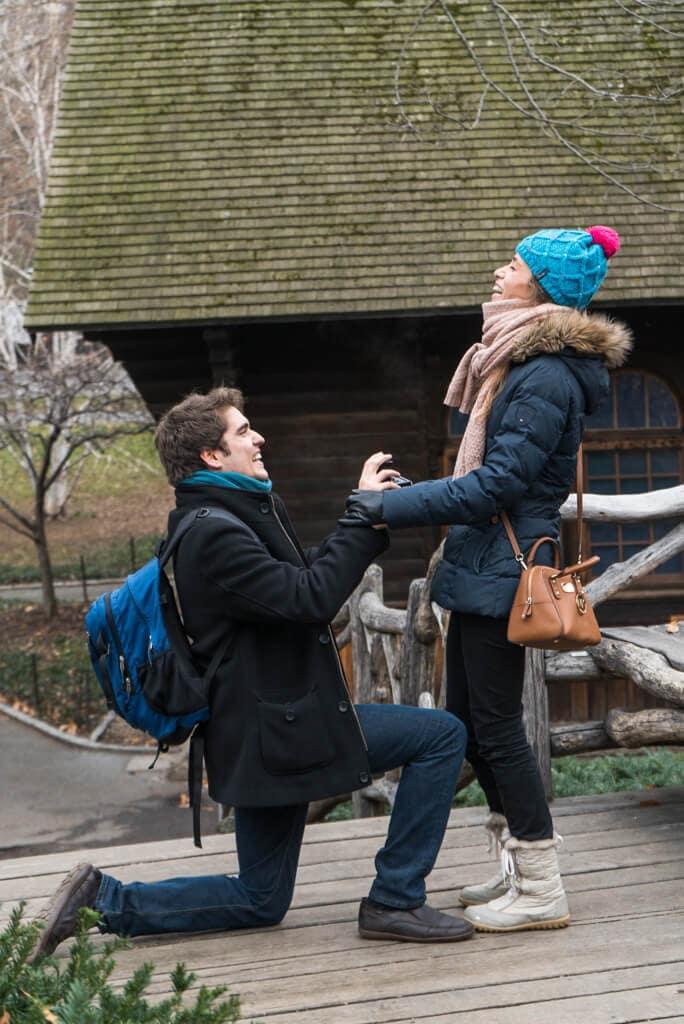 Photo 2 Shakespeare Garden Wedding Proposal   VladLeto