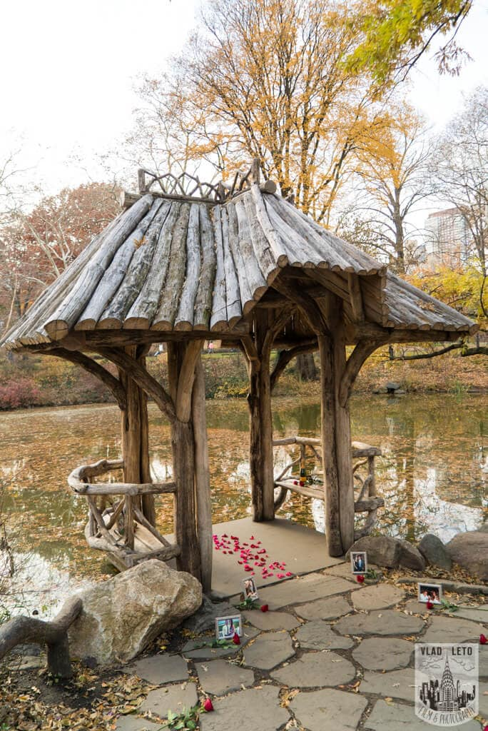 Photo Wagner Cove in Central Park Mariage proposal   VladLeto