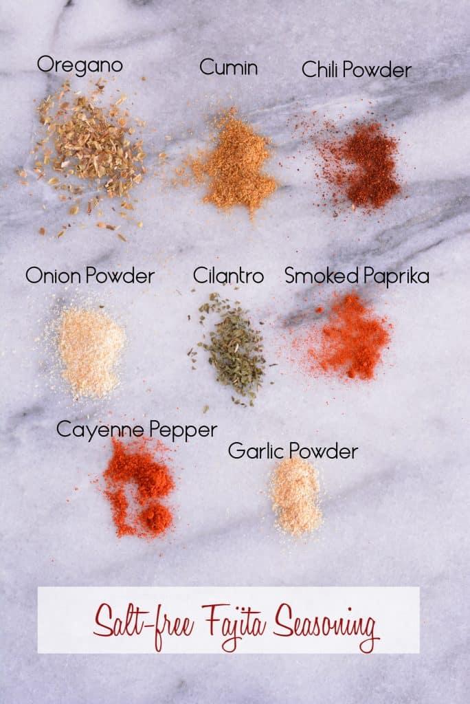 Fajita seasoning mix.