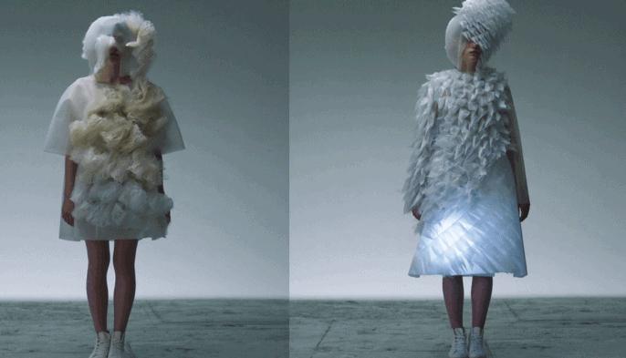 Ying Gao interactive dress emotion