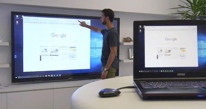 wireless sharing interactive touchscreen SpeechiTouch 003