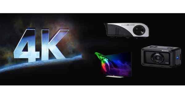 tìm hiểu về máy chiếu 4k