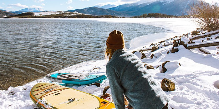 Inflatable paddle boards can withstand all kinds of elements, waters, and even getting run over.