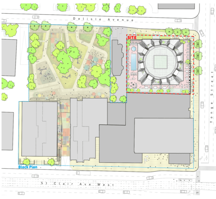 One Delisle Avenue Condos - site plan approval