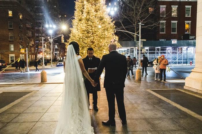 Photo 5 Мicro wedding in Washington Square Park