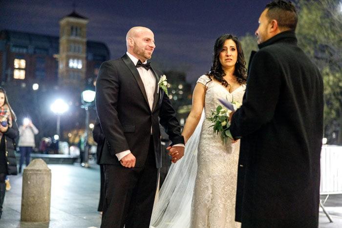 Photo 7 Мicro wedding in Washington Square Park