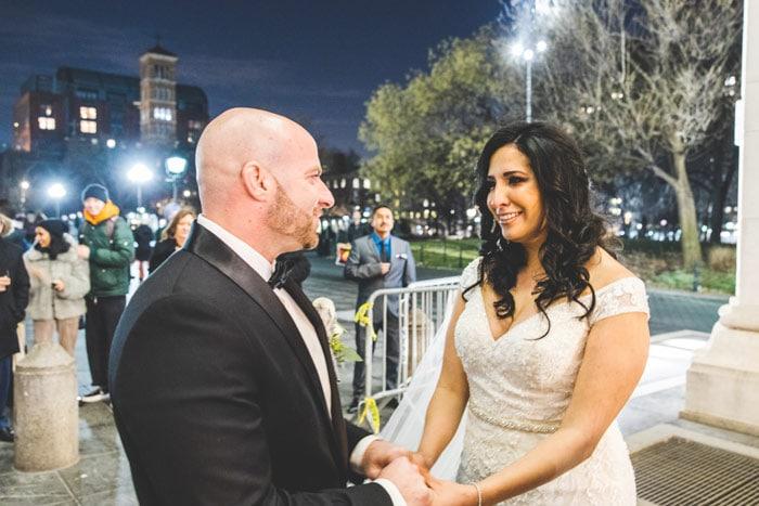 Photo 9 Мicro wedding in Washington Square Park