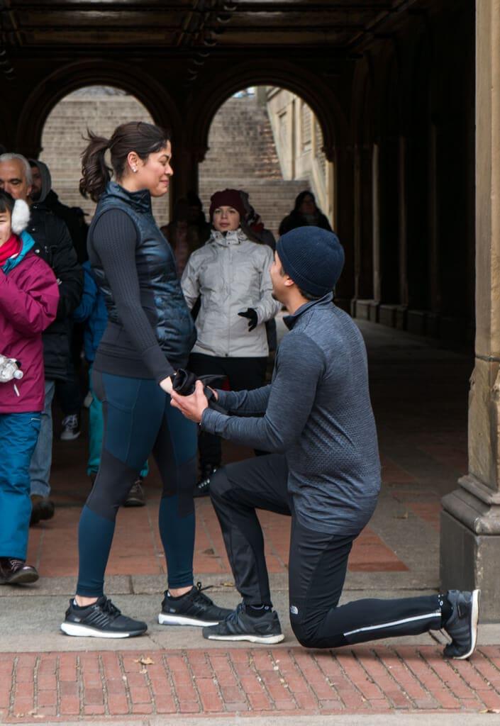 Photo Central Park Bethesda Terrace Marriage Proposal   VladLeto