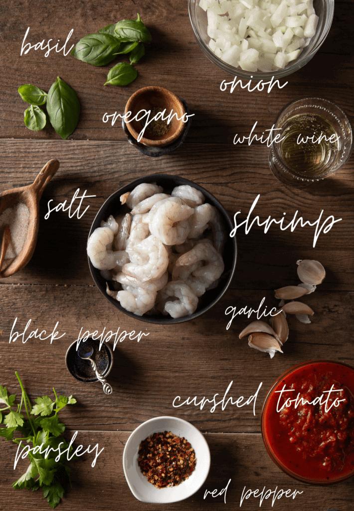 shrimp fra diavolo ingredients