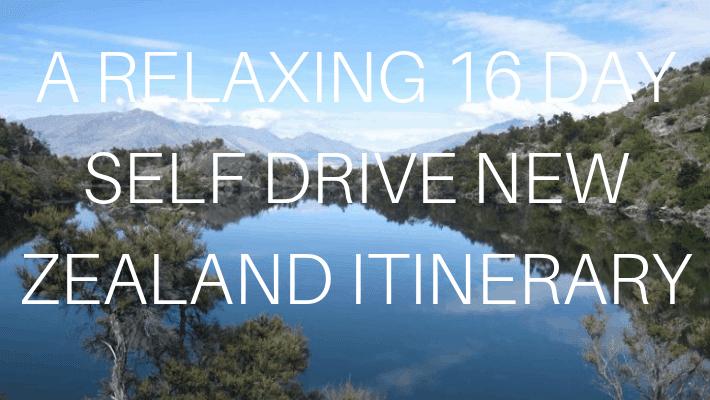 16 DAY SELF DRIVE ITINERARY