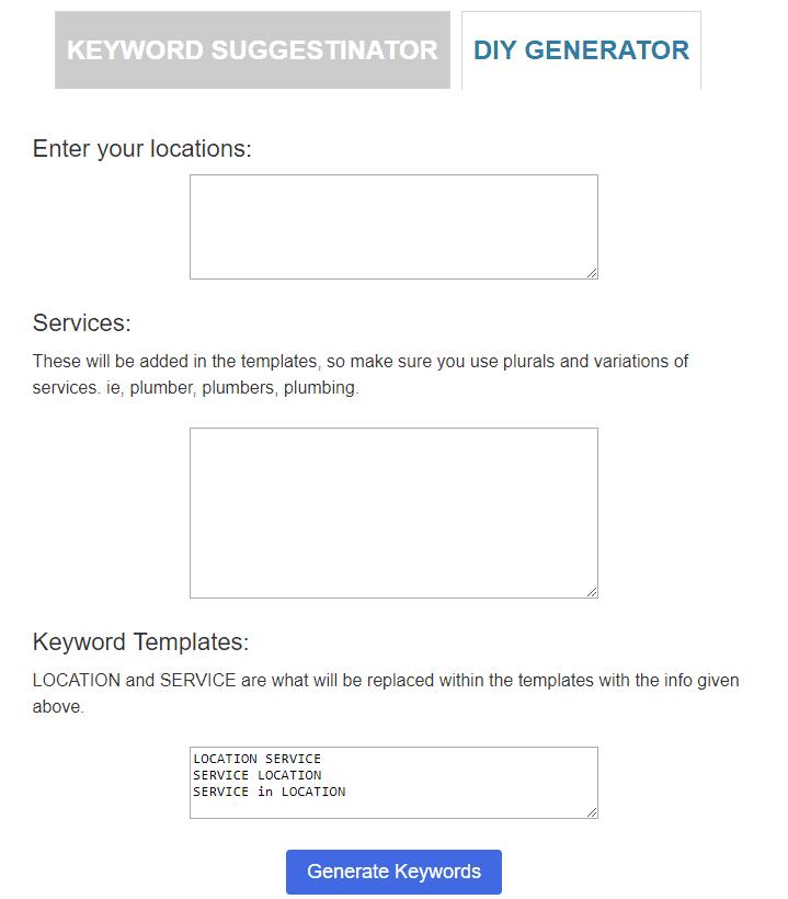IMforSMB search term generator