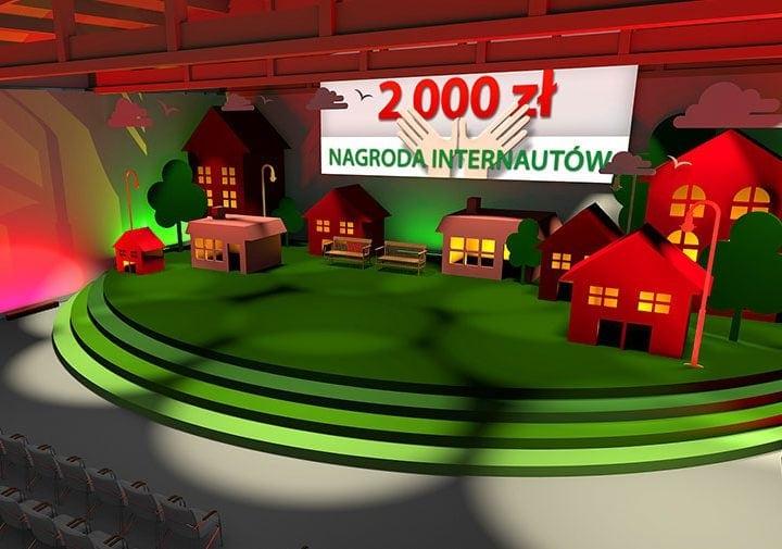 animacja scenografii eventu