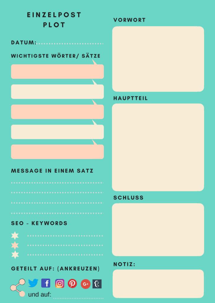 Blogplaner Seite 2