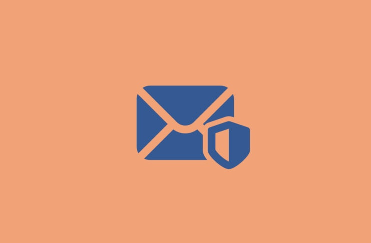 Envelope protected by a shield.