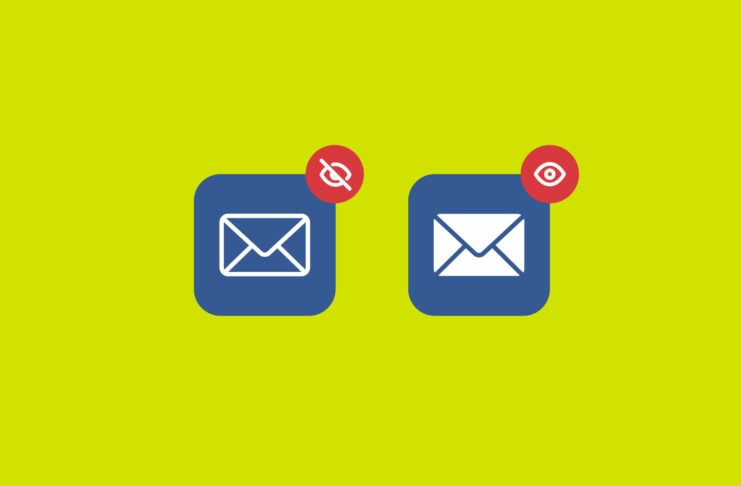 Two email icons.
