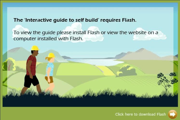 web development flash