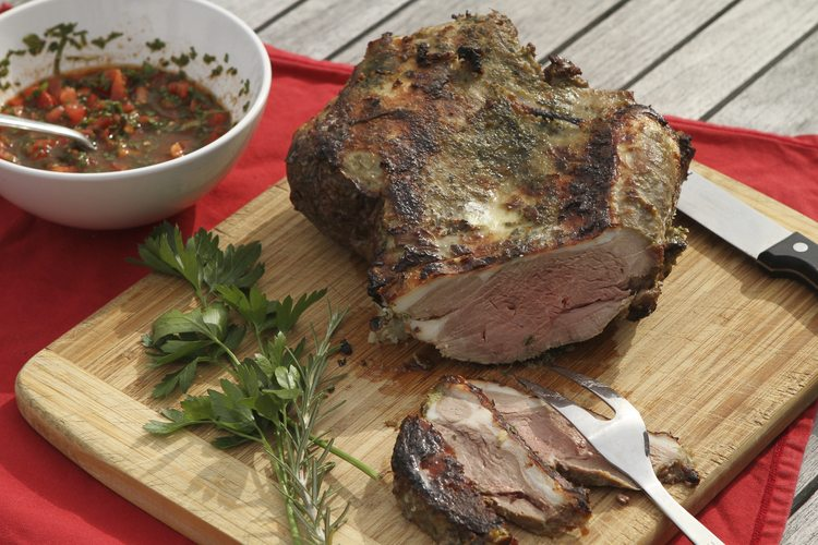 Leg of Lamb and Maple Syrup by Runamok Maple