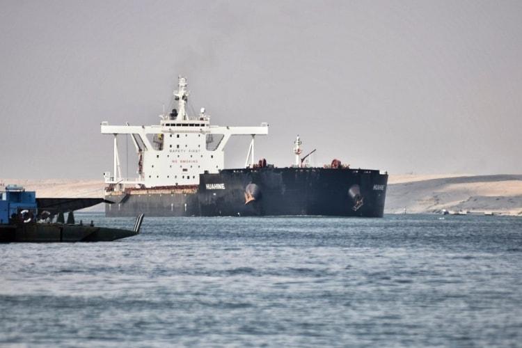 hajó teherhajó csatorna szuez