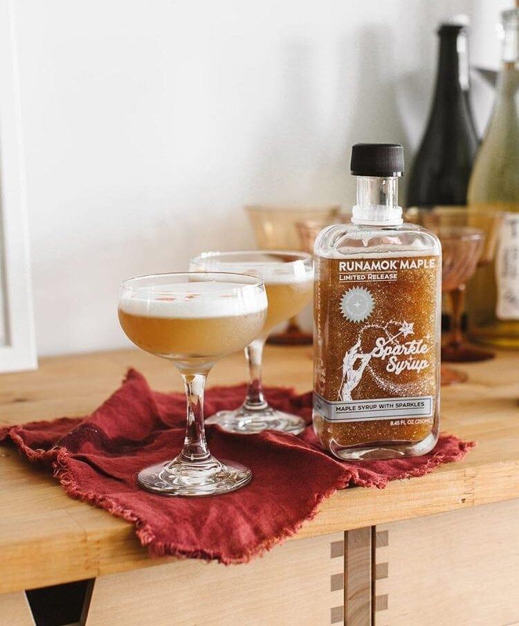 Gabi's Maple Whiskey Sour